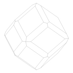 rendering of a cube